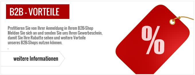 B2B Shop Anmeldung